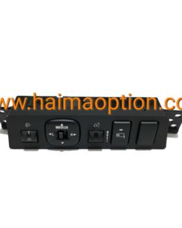 مجموعه سوئیچهای الکتریکی تنظیم نور و آینه جانبی داشبورد هایما S7 اصلی