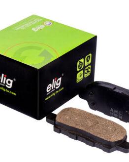 لنت ترمز سرامیکی چرخ عقب هایما S5 برند الیگ (ELIG) اصلی